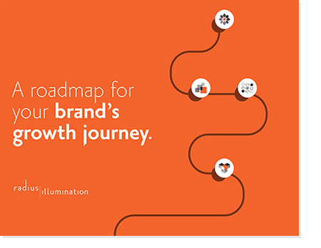 ebook cover: A roadmap for your brand's growth journey.